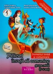 Piticot invata sa comunice Grupa mica 3-4 ani