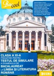 Pregatire pentru testul de simulare a examenului de Bacalaureat la Limba si literatura romana din clasa a XI-a