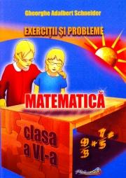 Exercitii si probleme de matematica pentru clasa VI-al