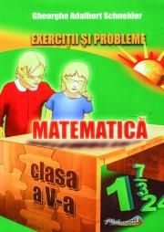 Exercitii si probleme pentru clasa a V-a (Matematica)