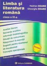 Limba si literatura romana - indrumator pentru clasa a IX-a