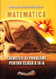 Matematica- Exercitii si probleme pentru clasa a IX-a