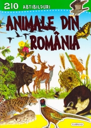 210 abtibilduri - Animale din Romania