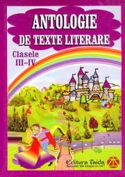 Antologie de texte literare - clasele III-IV