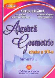 Auxiliar Algebra si Geometrie - clasa a VII-a, sem I