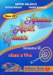 Auxiliar de Aritmetica - clasa a VI-a, sem II