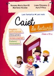 Caiet de lectura - Clasa a II-a