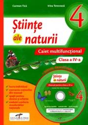 Caiet multifunctional - Stiinte ale naturii pentru clasa a IV-a + Manual digital