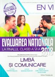 Evaluare nationala la finalul clasei a VI-a Limba si comunicare