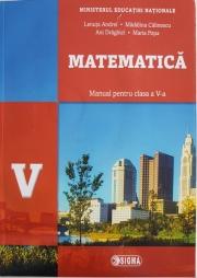 Matematica, manual pentru clasa a V-a (Contine editia digitala)