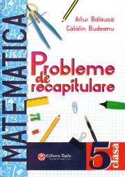 Matematica probleme de recapitulare pentru clasa a V-a