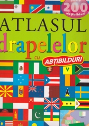 Atlasul drapelelor cu abtibilduri