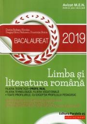 Bacalaureat 2019 Limba si literatura romana Profil real - Dorica Boltasu-Nicolae