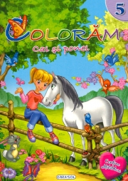 Coloram cai si ponei