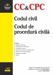 Codul civil. Codul de procedura civila. Editia a 7-a actualizata la 6 ianuarie 2020 - Evelina OPRINA, Radu RIZOIU