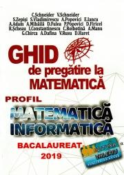 Bacalaureat 2019 - Ghid de pregatire la Matematica, profil Mate - Info