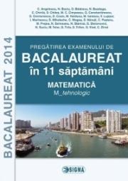 Pregatirea examenului de matematica la Bacalaureat 2014 in 11 saptamani