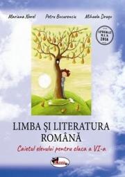Limba si literatura romana, caietul elevului pentru clasa a VI-a