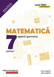 Matematica - CONSOLIDARE (2018 - 2019) - Aritmetica, alegebra, geometrie, pentru clasa a VII-a. Partea I (Colectia mate 2000+)