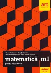 Matematica M1 pentru examenul de Bacalaureat 2019 - Marian Andronache (Filiera teoretica, profilul real, specializarea mate-info. Filierea vocationala, profilul militar, specializarea mate-info)
