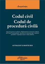 Codul civil. Codul de procedura civila. Actualizat 21 martie 2019