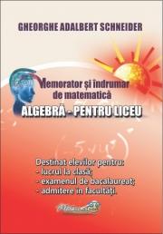 Memorator si indrumar de matematica (Algebra pentru liceu)