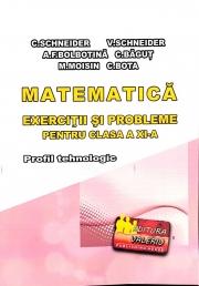 Matematica - Exercitii si probleme pentru clasa a XI-a. Profilul Tehnologic - Elemente de teorie, exercitii si probleme rezolvate, exercitii si probleme propuse