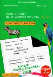 Bacalaureat Biologie 2019 clasele 9-10. Ghid pentru bacalaureat de nota 10. Sinteze teste si rezolvari 2019 - Stelica Ene