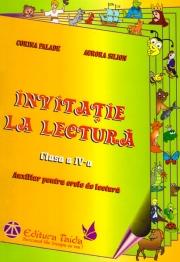 INVITATIE LA LECTURA. AUXILIAR PENTRU ORELE DE LECTURA - CLASA A IV-A