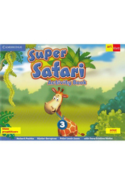 Super Safari. Activity Book. Limba Engleza. Clasa pregatitoare. Cambridge University Press - Herbert Puchta, Günter Gerngross, Peter Lewis-Jones, Oana Cristina Stoica