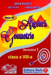 AUXILIAR DE ALGEBRA SI GEOMETRIE PENTRU CLASA A VIII-A SEMESTRUL I
