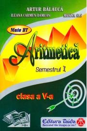 Auxiliar de Aritmetica - clasa a V-a, sem. I