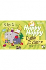 Happy Hoppy, English for children 5 in 1. Sing, play and learn english