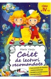 Caiet de lecturi recomandate - Clasa 4 - Maria Vantu