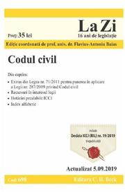 Codul civil. Actualizat 5. 09. 2019
