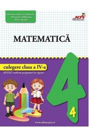 Matematica - Clasa 4 - Culegere - Valentina Stefan-Caradeanu