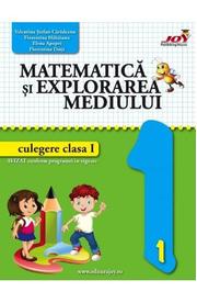 Matematica si explorarea mediului - Clasa 1 - Culegere - Valentina Stefan-Caradeanu