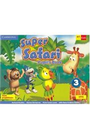 Super Safari 3. Pupil's book + CD. Limba engleza - Clasa pregatitoare - Herbert Puchta