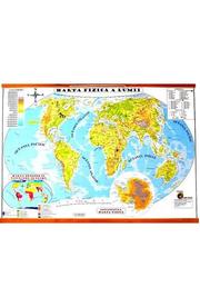 Harta Fizica a lumii. Harta Politica a lumii