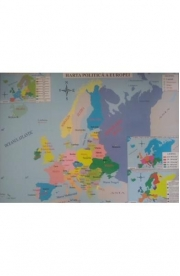 Harta fizica a Europei si Harta politica a Europei