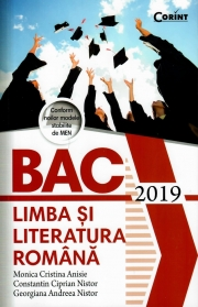 Bacalaureat 2019 Limba si literatura romana - Monica Cristina Anisie. Conform noilor modele stabilite de MEN
