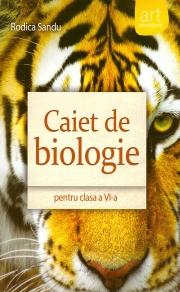 Caiet de biologie pentru clasa a VI-a