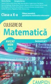 Culegere de matematica pentru clasa a X-a, semestrul I
