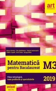 Bacalaureat - MATEMATICA M3 Filiera tehnologica, toate profilurile si specializarile