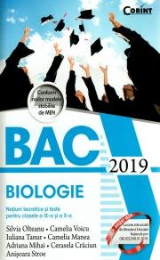 Bacalaureat 2019. Biologie. Notiuni teoretice si teste pentru clasele a IX-a si a X-a
