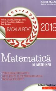 Matematica - Bacalaureat 2019 M_Mate-Info ( 60 de teste )